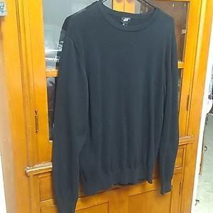 Black pullover sweater H&M